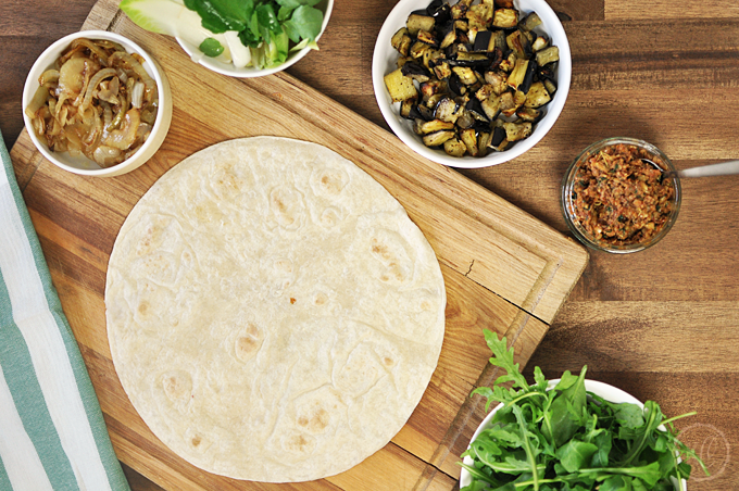 Basics: Tortilla-Wraps falten